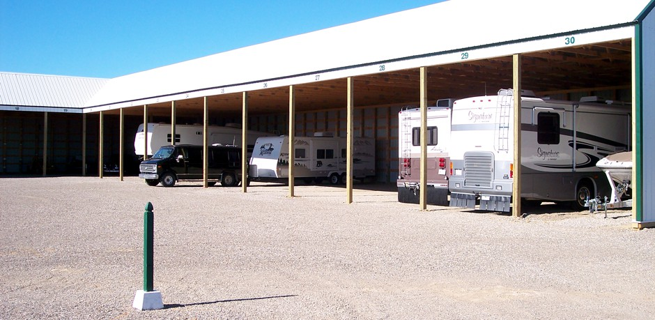 Covered RV Storage Calgary & Okotoks