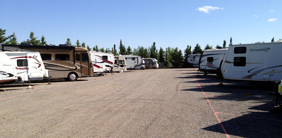 Outdoor RV Storage Calgary & Okotoks